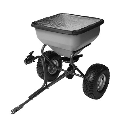 1. Precision Products TBS6000RDOS 6-Series Tow Behind Broadcast Spreader