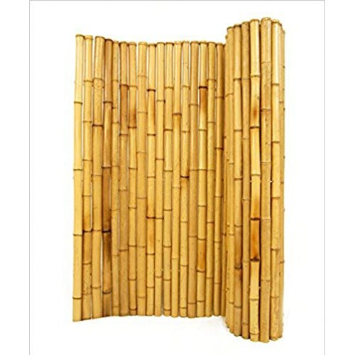 1. Natural Rolled Bamboo Fencing