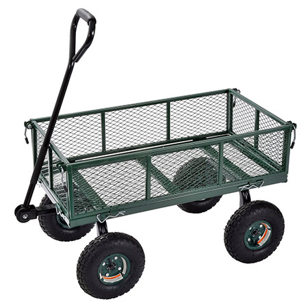 8. Sandusky Lee CW3418 Utility Garden Wagon Review