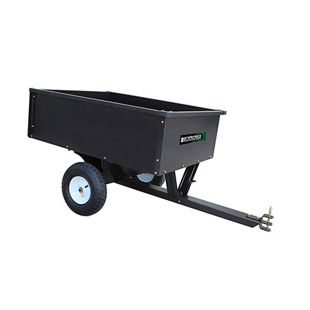 7. 10 Cubic Ft. Steel Dump Cart by Yard Commander Review
