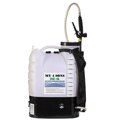 5. M4 MY4SONS 4-Gallon Backpack Sprayer
