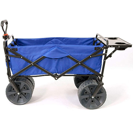1. Mac Sports Folding All Terrain Beach Cart with Table Review