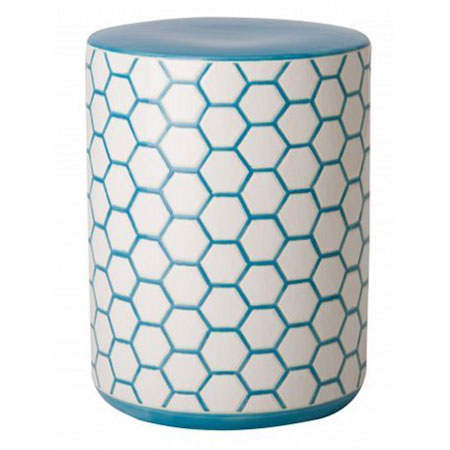 2. Emissary Asian Decorative Ceramic Garden Stool