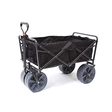 2. Mac Sports Heavy-Duty All-Terrain Black Utility Wagon Reviews