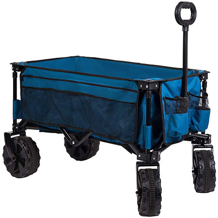 7. Timber Ridge Folding Garden Wagon Review