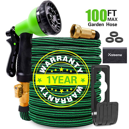 4. KAREEME Expandable Water Hose