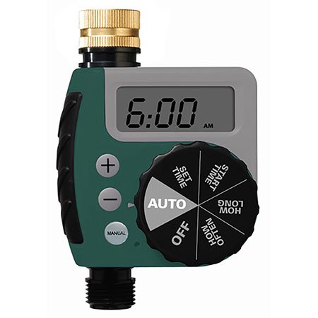 New Water Irrigation System Heavy Duty Outdoor 1 Outlet Hose Faucet Timer