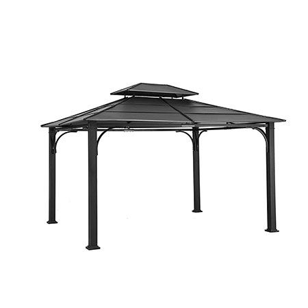 4. Sunjoy 10' x 12' Galvanized Steel Gazebo