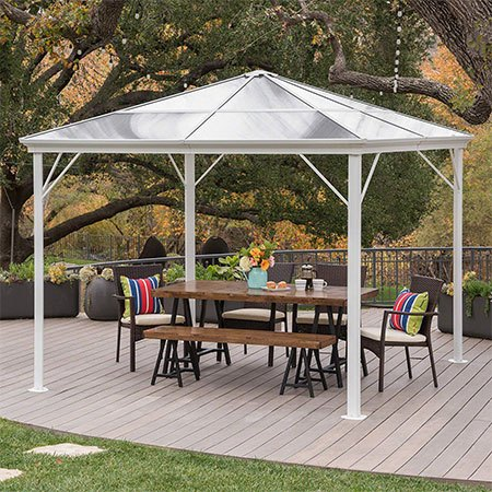 2. Christopher Knight Home Halley Hardtop Gazebo