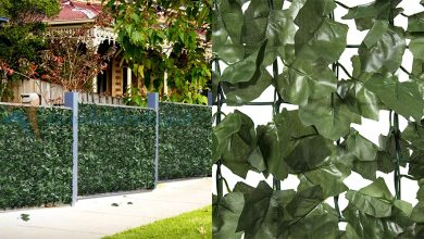 Best Faux Ivy Privacy Fences