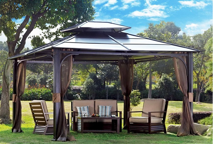 Top 10 Best Hardtop Gazebos For Backyard Relaxation Reviews Guide 2020 Garden Work Today