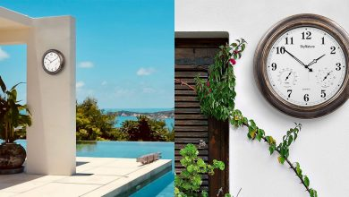 Best Outdoor Clocks For Modern Decorations