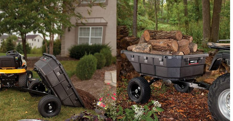 Best Tow Behind Dump Cart For Lawn Tractors