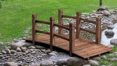Best Wooden Garden Bridges For Decorations