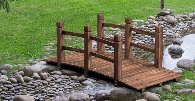 Best Wooden Garden Bridges For Decorations