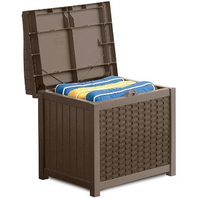 3. Suncast 22-Gallon Small Deck Box