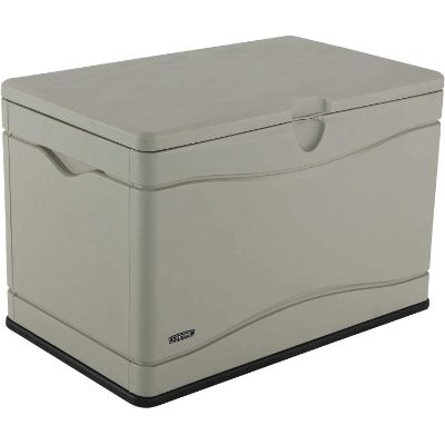 10. LIFETIME 60059 Outdoor Storage Box