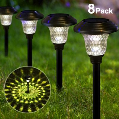 8. BEAU JARDIN Solar Pathway Outdoor Lights