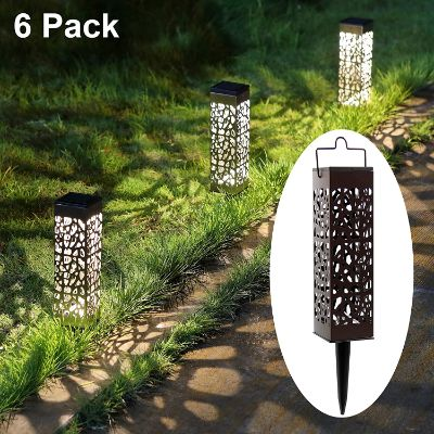 4. MAGGIFT Outdoor Dual-use Solar Path Lights
