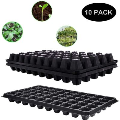3. Seed Starter Tray,10 Pack BPA-Free Planting