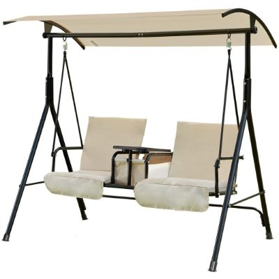 8. U-MAX 2 Person Porch Outdoor Patio Porch Swing